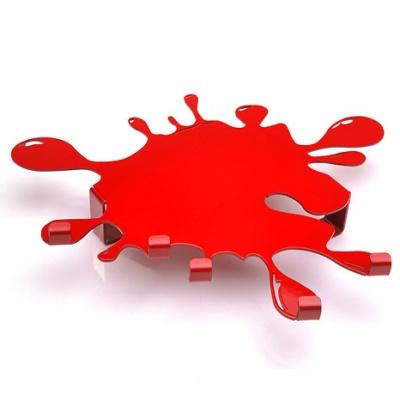 wieszaczek czerwony